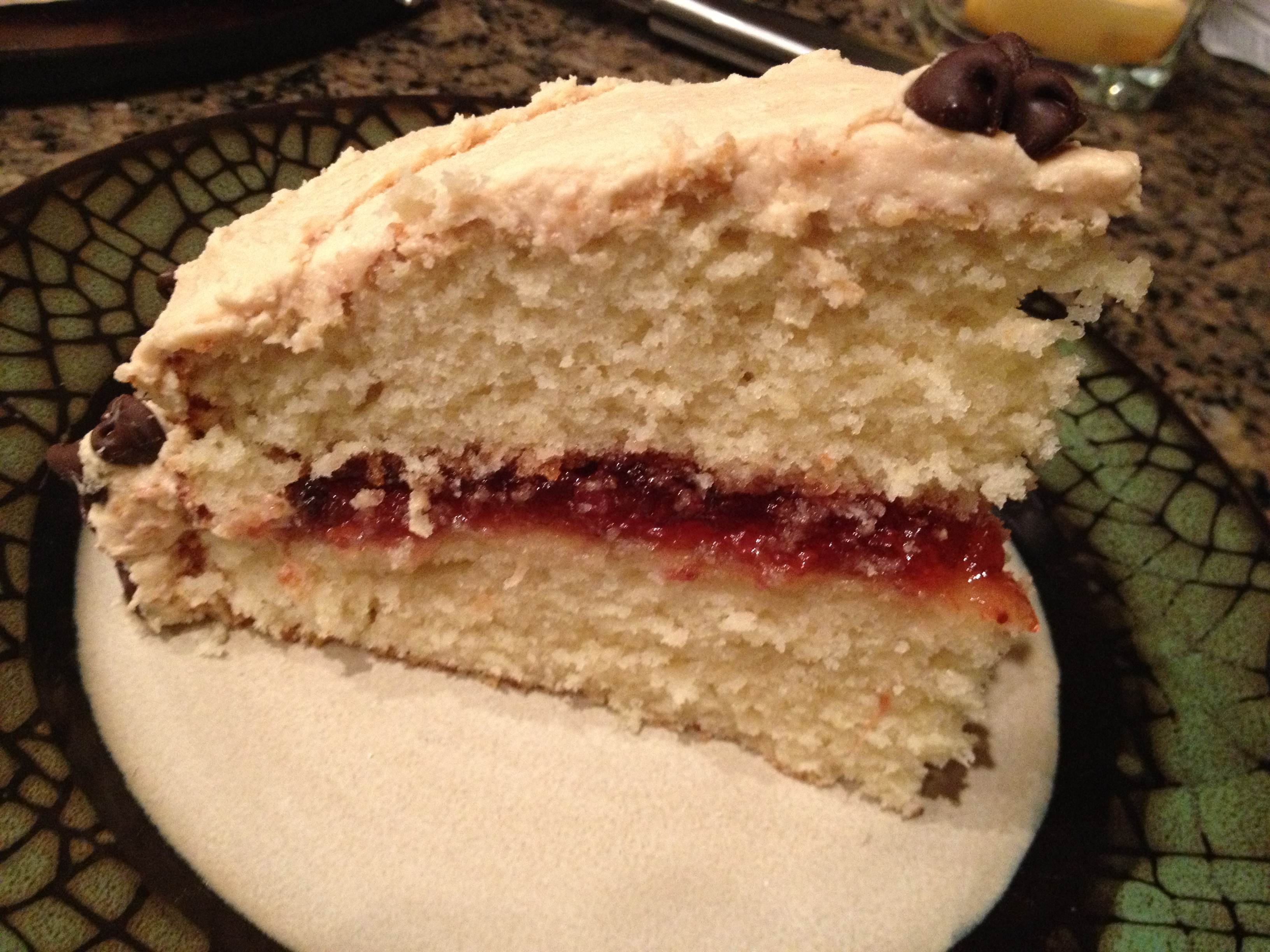 peanut butter and jelly cake peanut butter and jelly cake chaos and cookies 6415