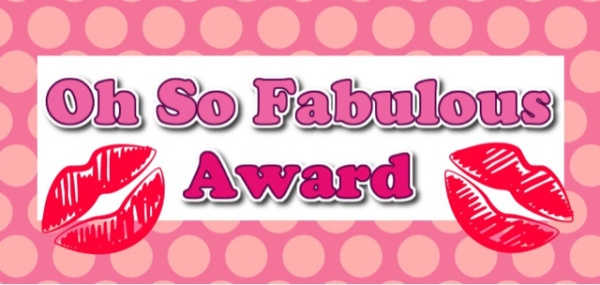 oh so fabulous award chaos and cookies