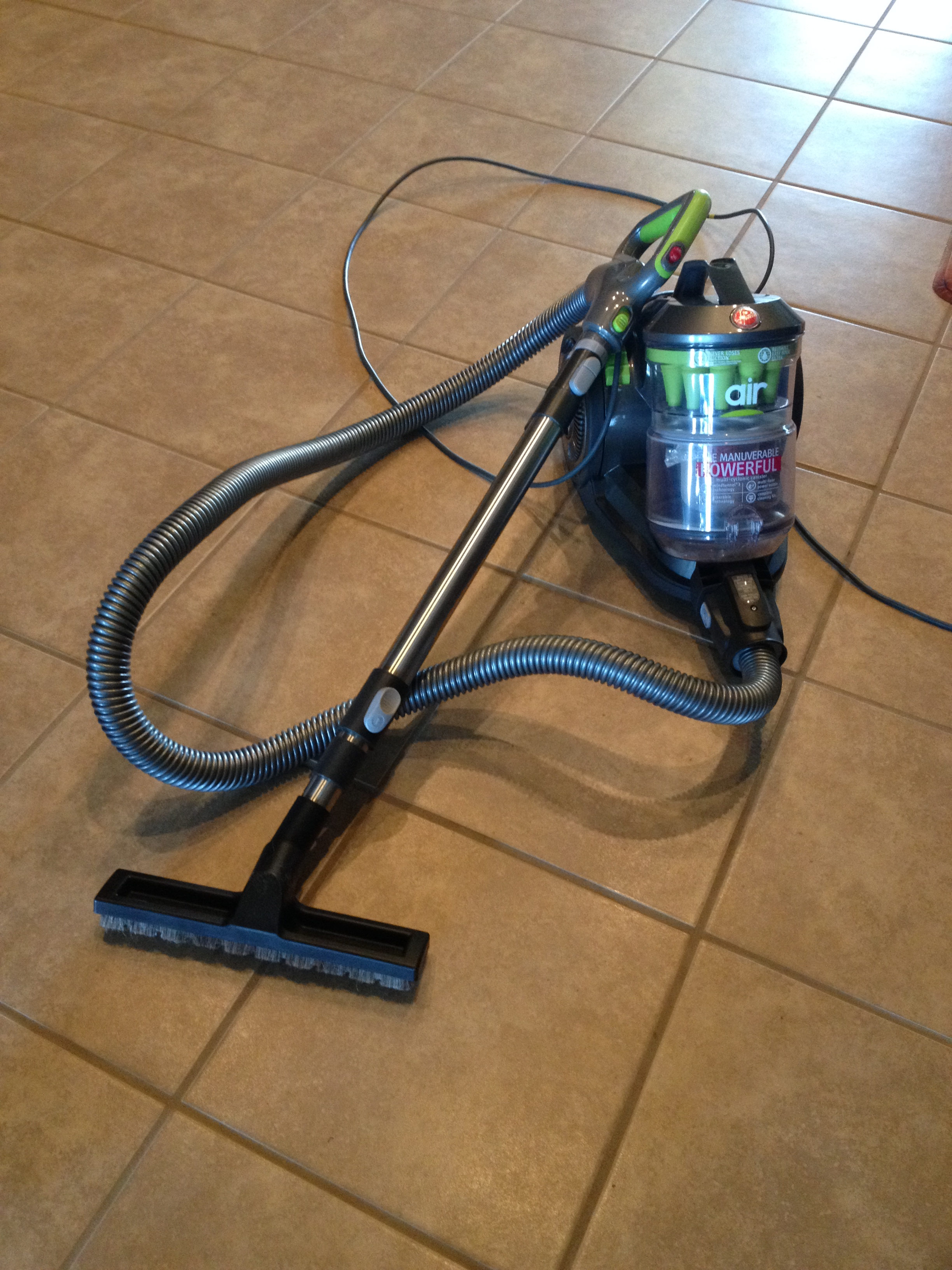 Today I purchased a brand new vacuum cleaner, something I have needed to do  for a while, but put off until I HAD to! I purchased a Hoover Air Canister  ...